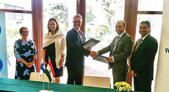 AVTEC India sign MoU with SISU Axle, Finland on 30th Nov 2018