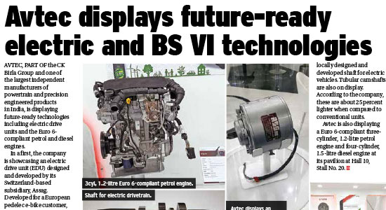 Future-ready electric and BSVI Technologies